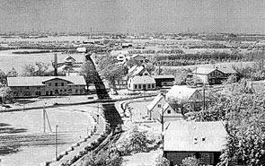 Stenderupau zu Beginn des Jahres 1978